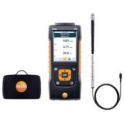 Kit 440 de Medição da Velocidade e Fluxo de Volume do Ar em Dutos de Ventilação