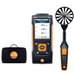 Kit 440 de Medição do Fluxo de Volume Velocidade e Temperatura em Saídas de Ar