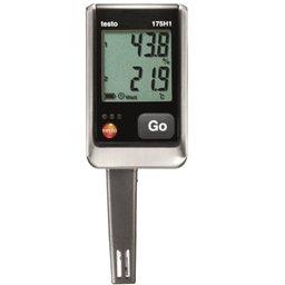 Higrômetro -20 a +55 °C Datalogger de Temperatura e Umidade