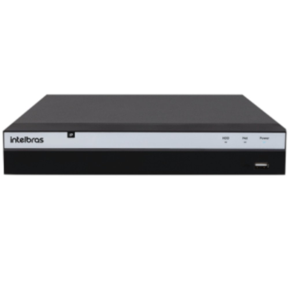 Gravador Digital de Vídeo IP Stand Alone 4K 8 Canais NVD 3208 P