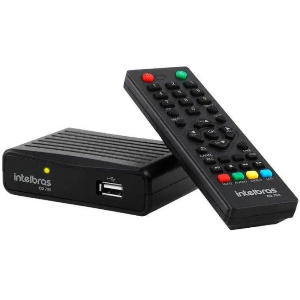 Conversor Digital de TV com Gravador de Conteúdo CD 700