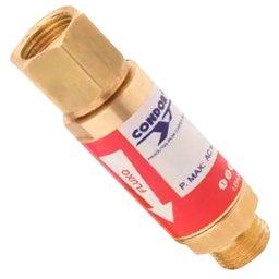 Válvula Corta Fogo Oxigênio VCFN RO