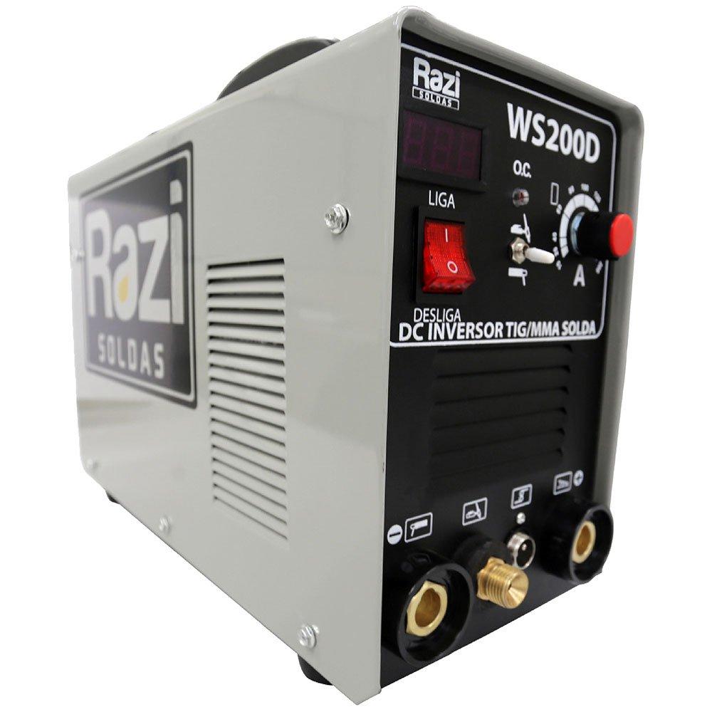 Maquina de Solda Multifunção 200A Monofásica 110/220V
