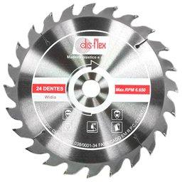 Disco de Serra Circular Wídea 4.3/8 x 3/4 Pol. 24 Dentes