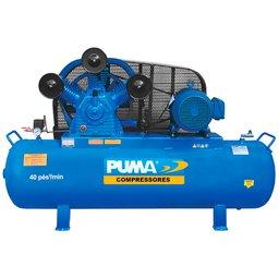 Compressor de Ar Trifásico 40 Pés 283L 220V