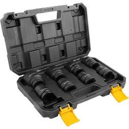 Jogo de Soquetes Sextavados de Impacto Encaixe 3/4 Pol. 19 mm a 38 mm com 8 Peças