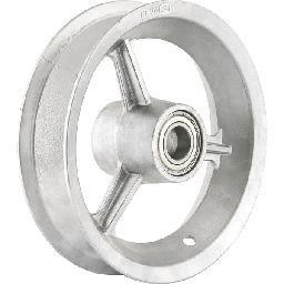 Aro de Alumínio 8 Pol. com Rolamento para Pneus 3,25 Ou 3,50