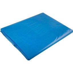 Lona Plástica Cortada Azul 4 M x 4 M Grossa