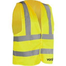 Colete Refletivo Tipo Blusão sem Bolso Amarelo Cv 102