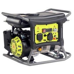 Gerador de Energia Portátil à Gasolina 1.5 kVA 110/220V Partida Manual AVR com Acessórios WX1500