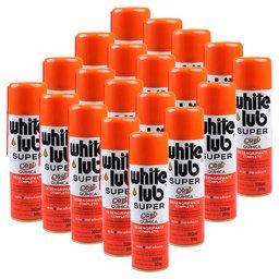 Kit 20 Desengripantes Spray ORBI-O3 White Lub Super 300ml