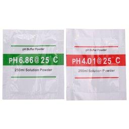 Kit de Calibração Solução Tampão PH 4.01 e 6.86