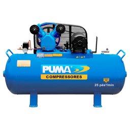 Compressor de Ar Pistão 4CV 25 Pés 228 Litros 220/380V