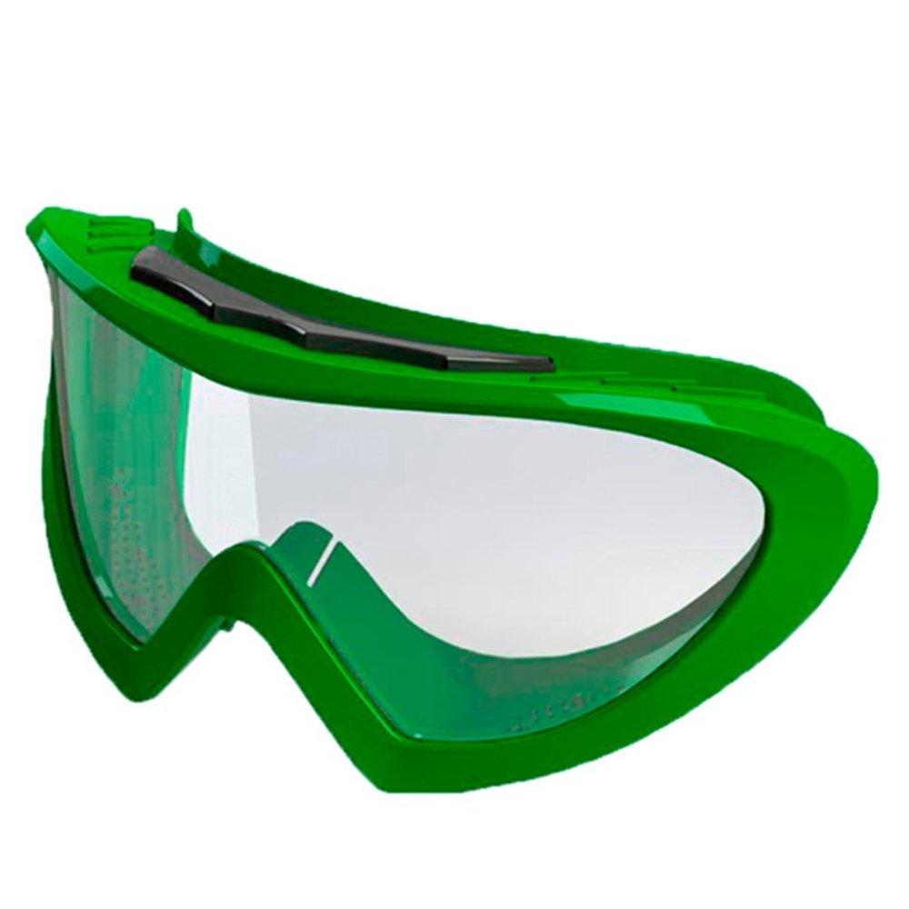 Óculos de Segurança Verde Ampla Visão Spider
