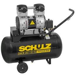 Motocompressor Isento de Óleo 9 Pés 1,5HP 50 Litros 110V