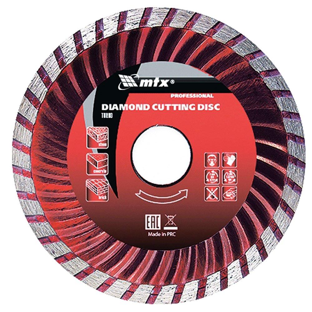 Disco de Corte Diamantado Turbo 115x22,2mm Corte Seco