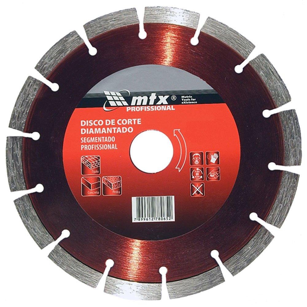 Disco de Corte Diamantado Segmentado 110 x 2 x 20mm com Anel adaptador 16mm