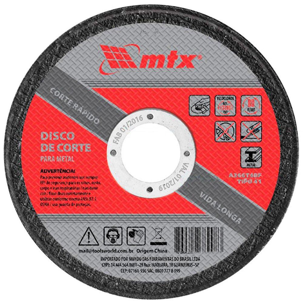 Disco de Corte 115X1,0X22mm para Metal