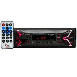 Auto Rádio MP3 Bluetooth 15W com Controle