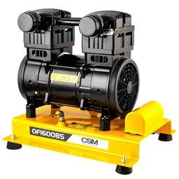 Compressor de Ar Sobre Base Isento de Óleo 8 Pés 1HP 220V