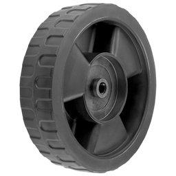 Roda Plástica Menor 181mm para Cortador de Grama