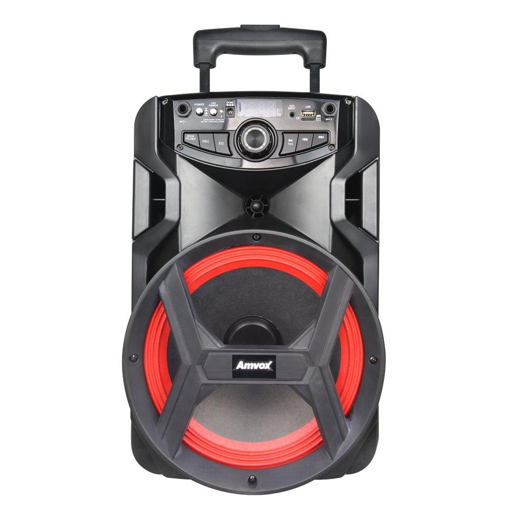 Caixa de Som Amplificada Bluetooth Radio FM Bivolt 250W