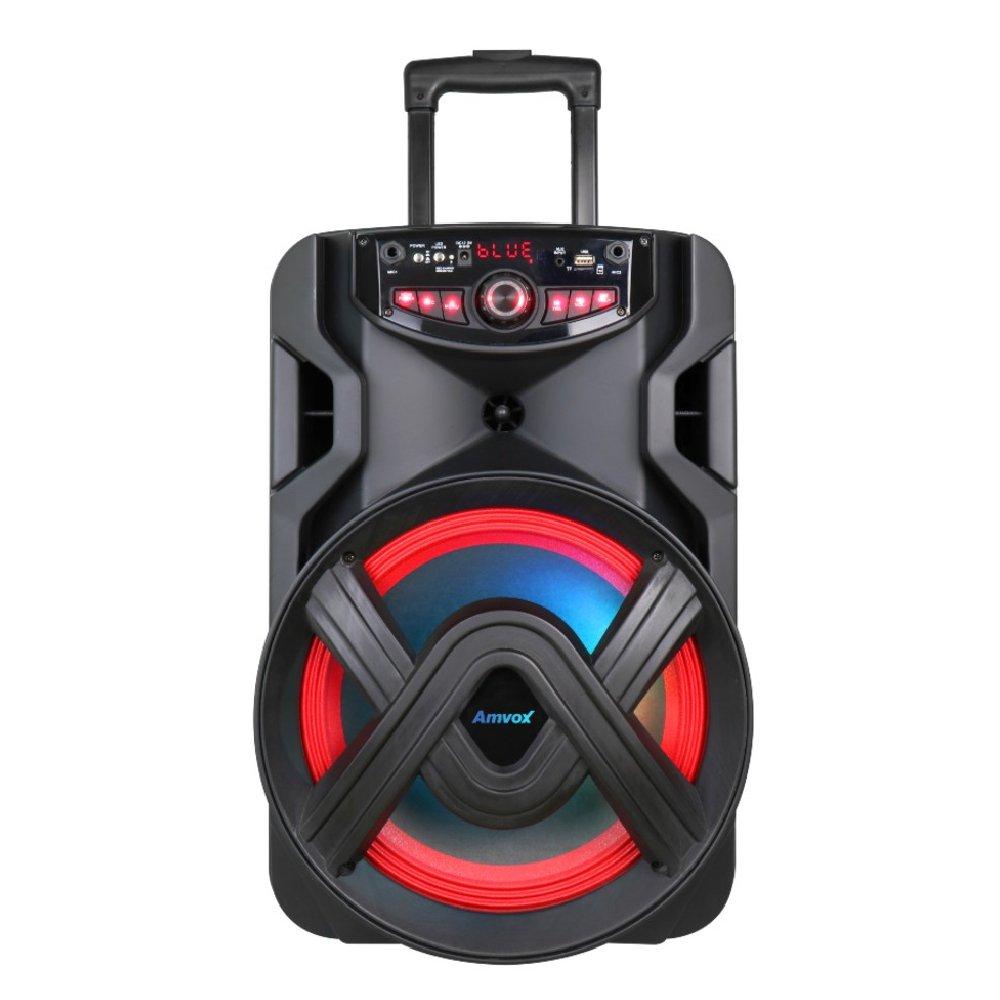 Caixa de Som Amplificada Bluetooth Radio FM Bivolt 400W