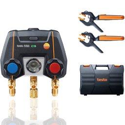 Kit - Manifold Digital Controlado por Bluetooth e 2 Sondas de Temperatura com Cabo Fixo NCT