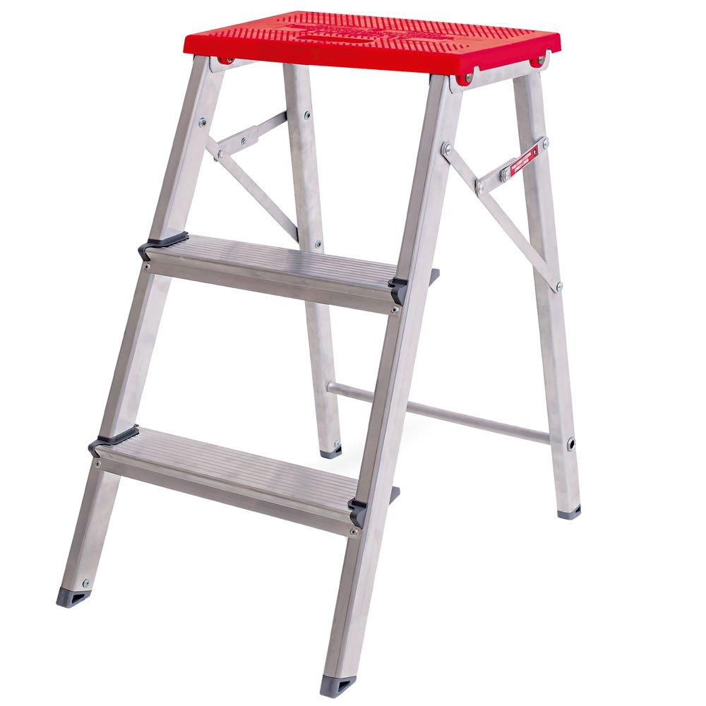 Escada Banqueta em Alumínio 3 Degraus