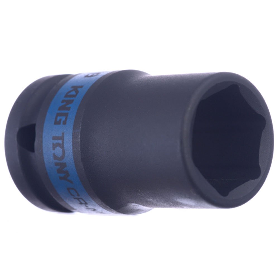 Soquete de Impacto Sextavado Longo CR-MO 11mm Encaixe 1/2 Pol.
