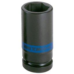 Soquete de Impacto Sextavado Longo com Encaixe 1 Pol. 24mm
