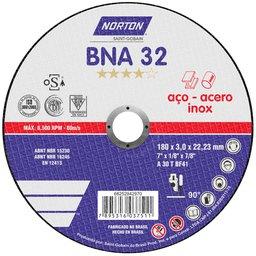 Disco de Corte BNA 32 180x3,0x22,23mm