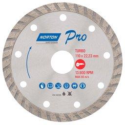 Disco de Corte Diamantado Pro Turbo 110 x 22,23mm