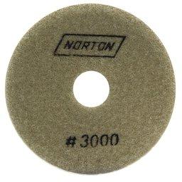 Disco Diamantado Flexível Brilho D Água 100mm x M14 Grão 3000