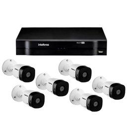 Kit Gravador Digital de Vídeo Multi HD - INTELBRAS-4580327 + Câmera Infra 1010 B Multi HD 2 Leds - INTELBRAS-4565332