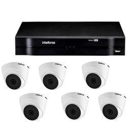 Kit Gravador Digital de Vídeo Multi HD - INTELBRAS-4580327 + Câmera Infra  Multi HD 2,8mm - INTELBRAS-4565298