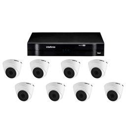 Kit Gravador Digital de Vídeo Multi HD - INTELBRAS-4580327 + Câmera Infra 1120 D Multi HD VHD 2,8mm 20m - INTELBRAS-4565298
