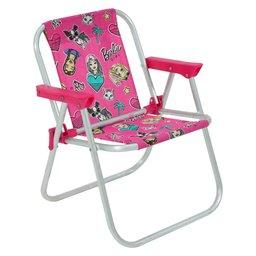 Cadeira Infantil Barbie de Alumínio