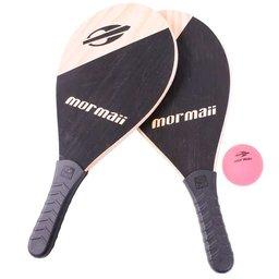 Jogo de Frescobol com Raquete e Bola de Praia