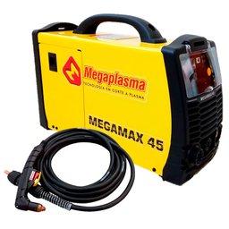 Máquina de Corte a Plasma Bivolt sem Tocha - MEGAPLASMA-FMX45 + Tocha Manual 45/6m com Conector Central - MEGAPLASMA-M088008CC