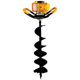 Perfurador de Solo Simples à Gasolina 2T 2,5 HP 52CC CSM-10101100011 + Broca de 30cm para Perfurador de Solo - BRANCO-17012750