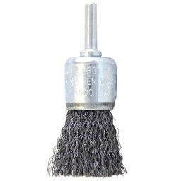 Escova Pincel Hobby Ondulada de Aço Carbono 25mm