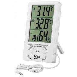 Termohigrômetro com Sensor Externo