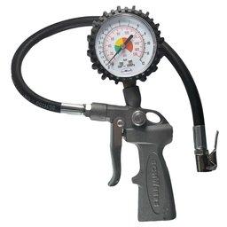Medidor de Pressão Inflador de Pneus Analógico 0 a 170PSI