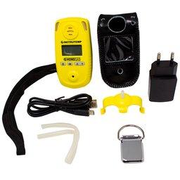 Detector Monogás à Bateria Li-on DC3.7V 1500mAh para Monoxido de Carbono CO com Carregador e Maleta