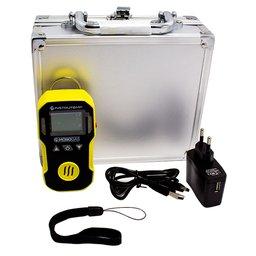 Detector de Gases à Bateria Li-on DC3.7V 1500mAh para Sulfidrico H2S com Carregador e Maleta