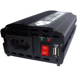 Inversor de Entrada de 12V 300W  e Saída USB