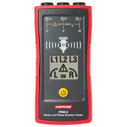 Testador de Rotação do Motor PRM-6 até 700V Trifásica
