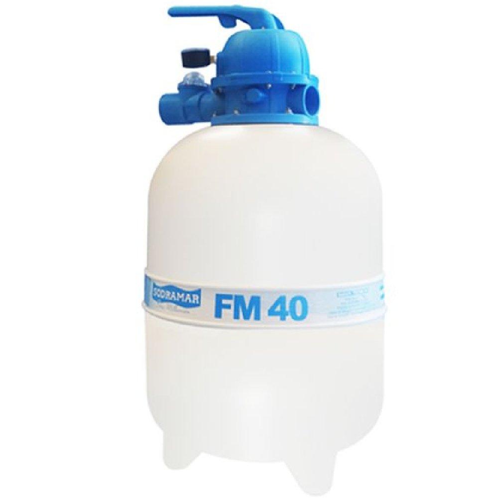 Filtro para Piscina FM-40 6,2m3/h até 50 Mil Litros