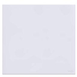 Placa Cega em Acrílico Branco 4x4
